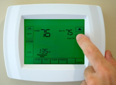Thermostat service in Scammon KS by Barone's Heat & Air, LLC